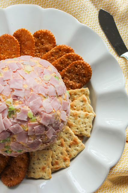 Ham & Cheddar Cheese Ball | The Chef Next Door
