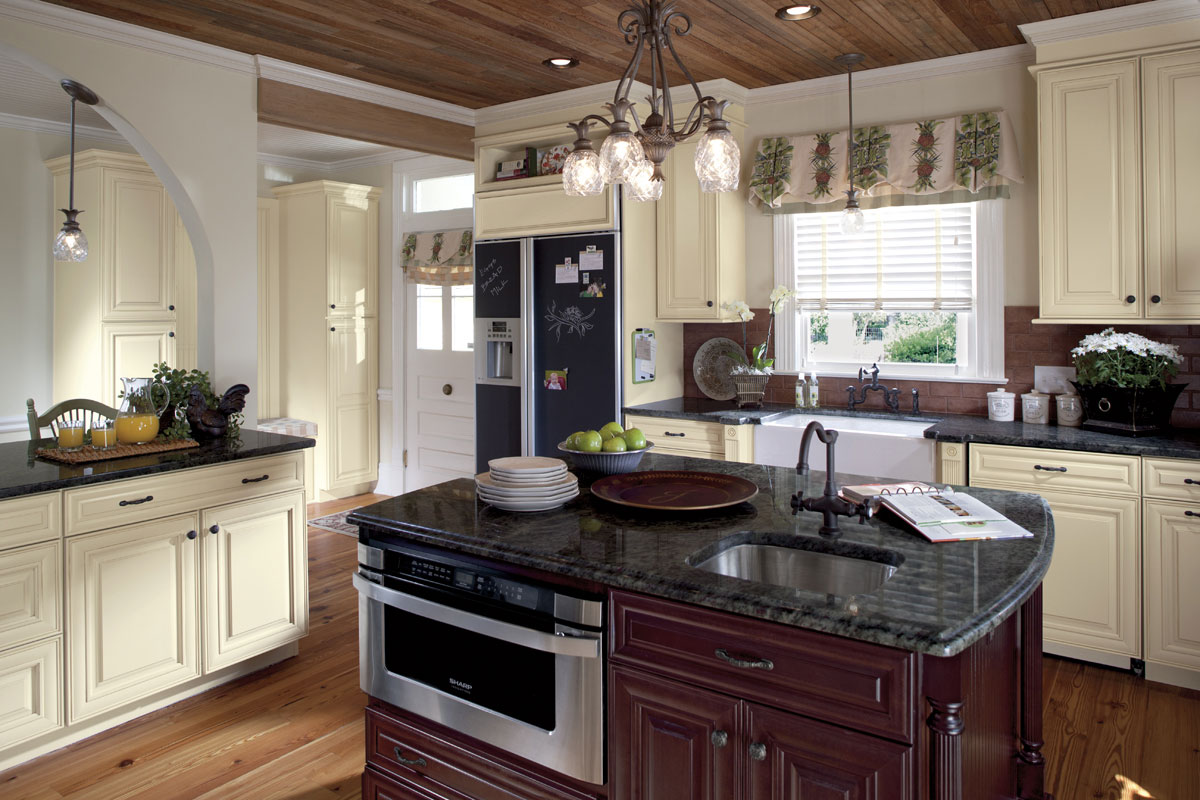 Kitchens With Espresso Cabinets