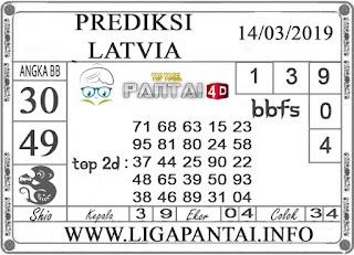 """Prediksi Togel """"LATVIA"""" PANTAI4D 14 MARET 2019"""