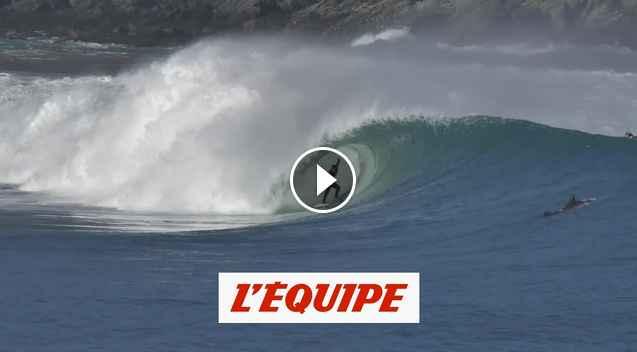 Joan Duru à Mundaka en Espagne - Adrénaline - Surf