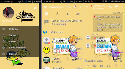 Download BBM Mod Tema Ramadhan v 2.13.1.14 Apk for Android
