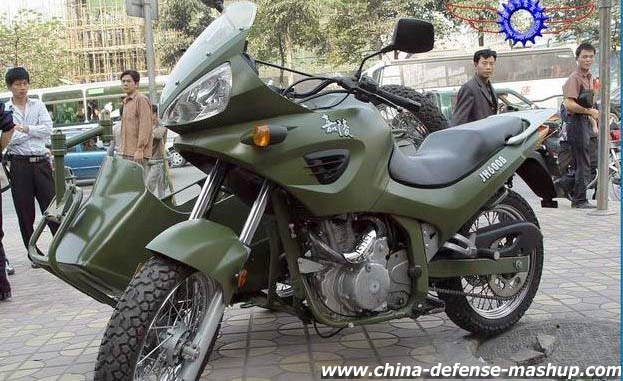 3dd7440813 Sidecar for the Chinese army by Jialing Industrial Corp.