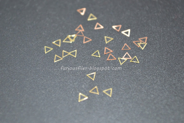 hollow triangles studs born pretty store