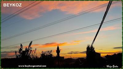 istanbul beykoz gün batımı