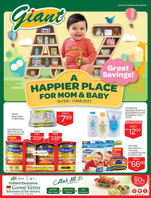 Giant Happier Place Baby Mum Discount Offer Promo Catalogue