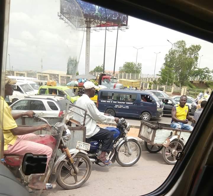 Image result for Okada riders in traffic Nigeria