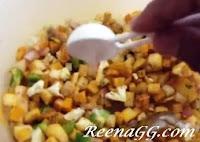 माइक्रोवेव में बनाए मसाला गोभी आलू - Aloo Gobi Microwave Recipe