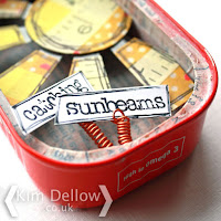 Catching Sunbeams in a sardine tin by Kim Dellow