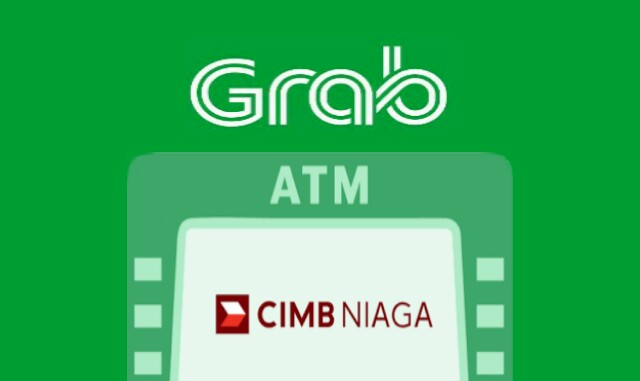 Topup saldo grab di ATM CIMB Niaga