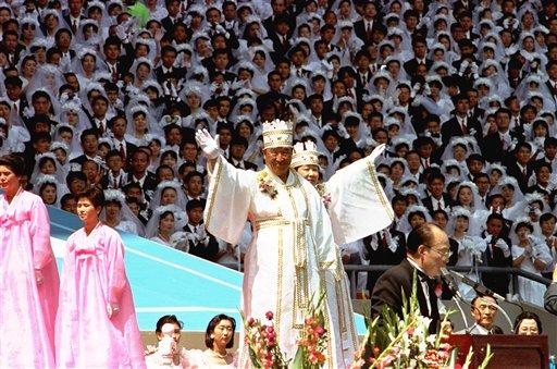 La secta Moon se caracteriza por la realización de bodas múltiples / WEB