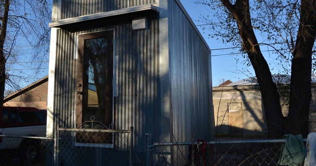 TINY HOUSE TOWN Artist Built Tiny House 175 Sq Ft