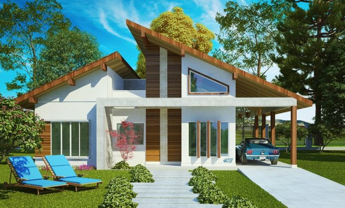 These beautiful small house designs that will fit in a small location, giving you the chance to build a great house in the location or place of your dreams. It is also a small house layout with a very cheap building budget and it is designed to your small lots. These house layouts are suitable for limited lots to answer the growing need as people move to areas where land is insufficient.
