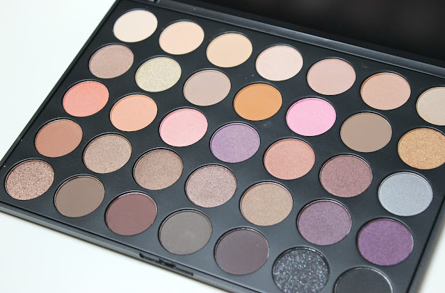 A picture of Morphe Brushes 35W Warm Color Palette