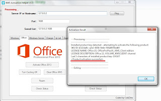 Microsoft Office 2013 Professional Plus VL Full Version + Activator