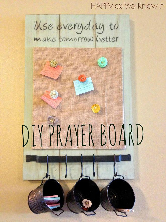 Diy Prayer Board