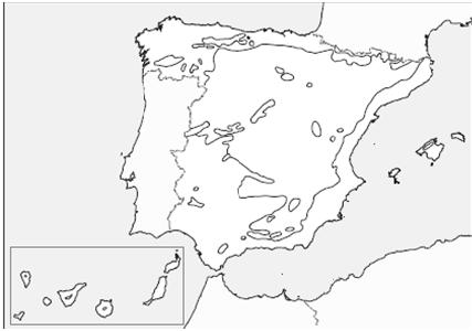 Mapa Climatico De España Mudo.Conocimiento Del Medio 5º Primaria Unidad 9 El Clima De