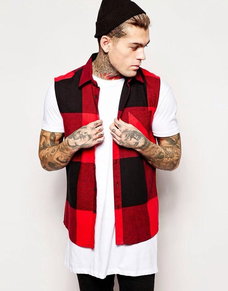 Macho Moda - Blog de Moda Masculina  Camisa Xadrez Masculina em alta ... ec974478aeaff
