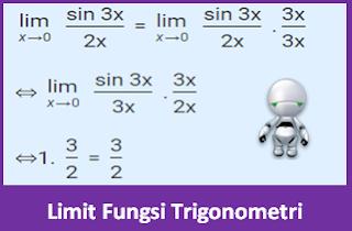 Contoh Soal Limit Fungsi Trigonometri dan Pembahasannya