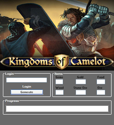 Download Free Kingdoms Of Camelot (All Versions) Hack Unlimited Gems,Gold,Food,Wood, Stone Ore,Ore 100% working and Tested for IOS and Android MOD.