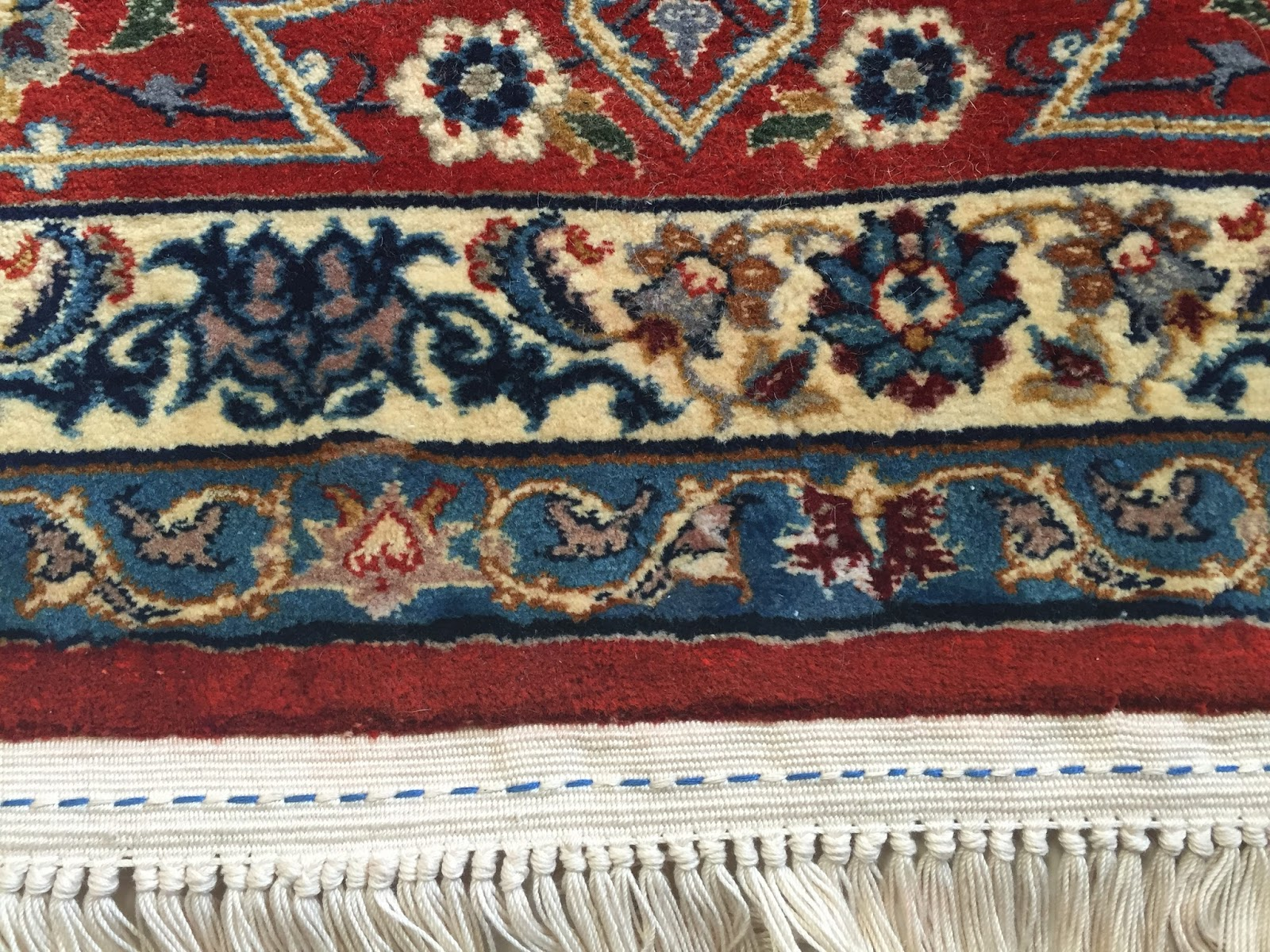 Kosker Traditional Rug Repair Isfahan Rug Project Moth
