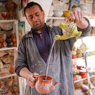 Demostración de camello mágico en Djerba
