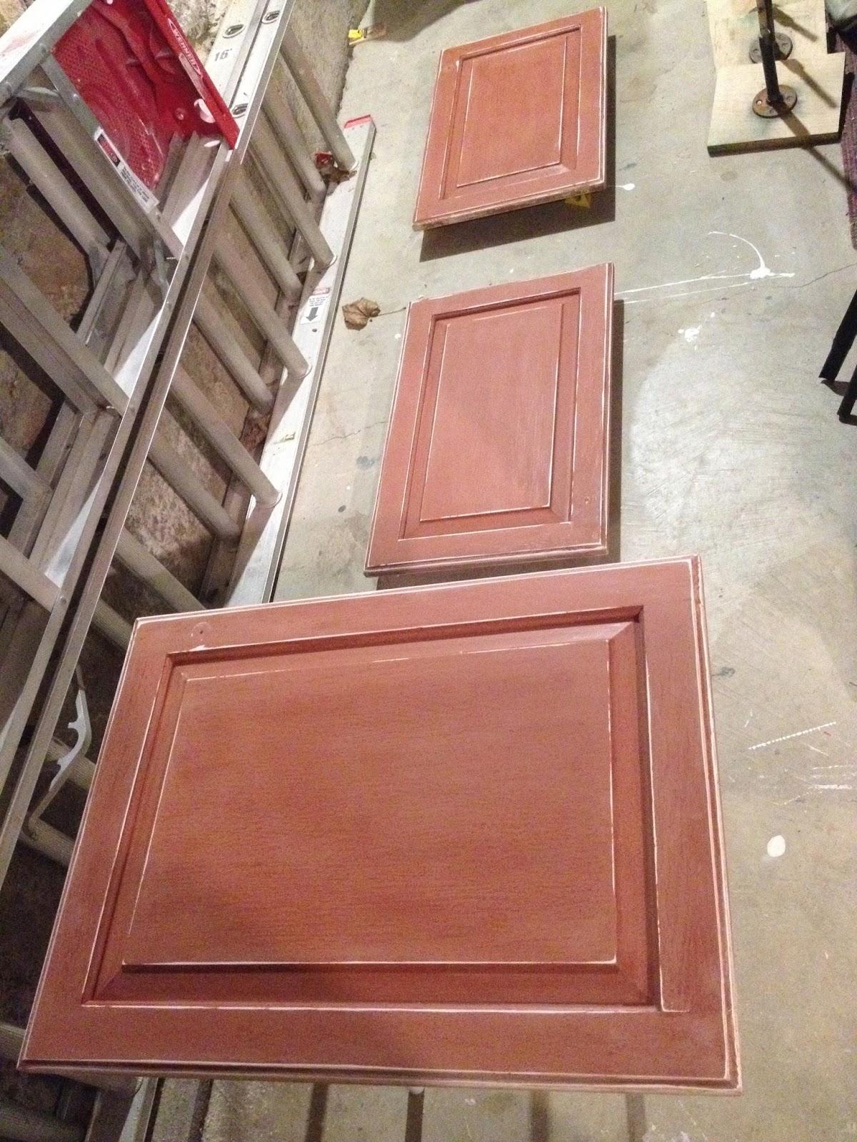 kitchen cabinets sanded