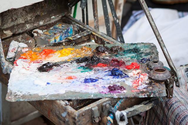 Artisti di strada-Chiesa del Sacré Coeur-Parigi