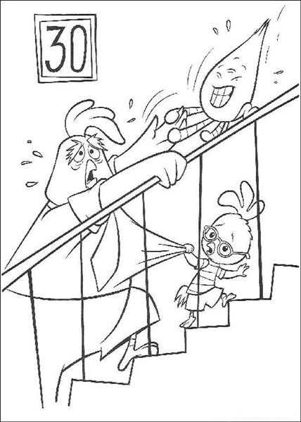coloring pages com | Chicken Little Coloring Pages | Learn To Coloring