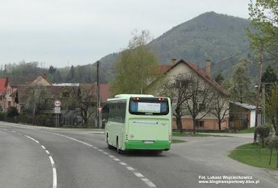 Droga E77, Słowacja, Irisbus Crossway 10,6 z firmy SAD LIORBUS