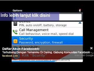 Cara Backlist/Blokir Nomor Handphone Di BlackBerry