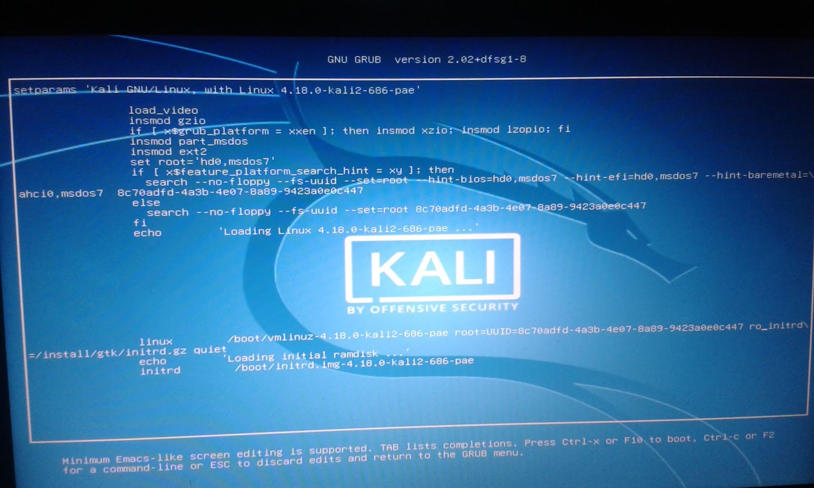 The Hacker Realm: Resetting Kali Linux Root Password