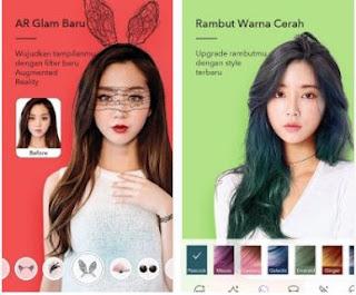 aplikasi edit wajah agar terlihat lebih cantik make up plus