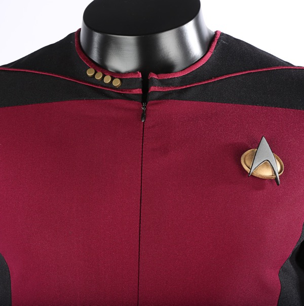 Captain Picard Starfleet uniform