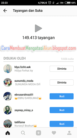 viewers video instagram
