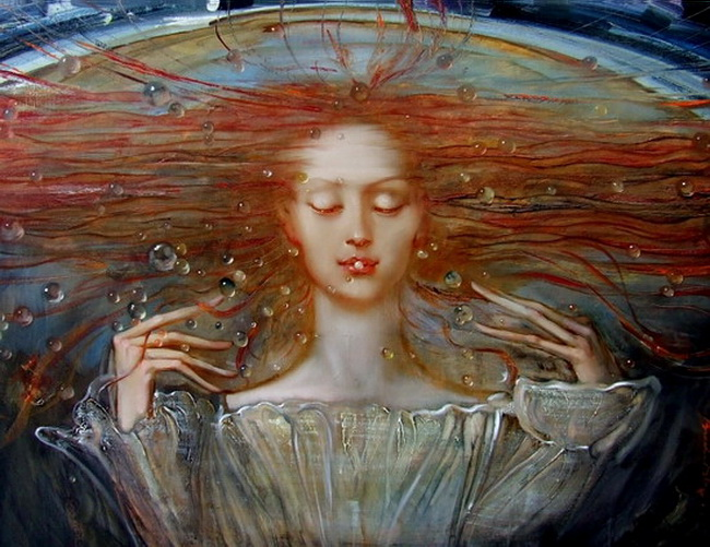 Dmitry Brodetsky 1976 | Russian Surrealist painter