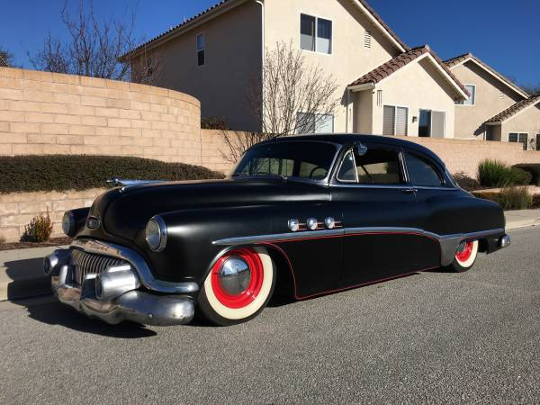 Custom Bagged, 1951 Special Tourback Sedan