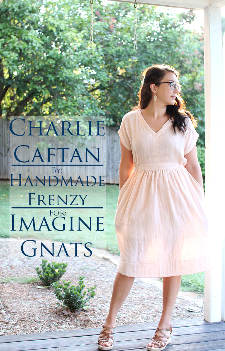 Charlie Caftan // Sewing For Women