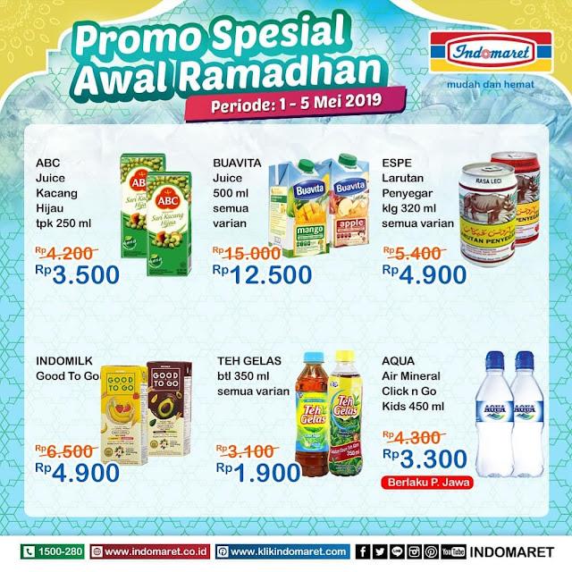 #Indomaret - #Promo #Katalog Special Awal Ramadhan Periode 01 - 05 Mei 2019