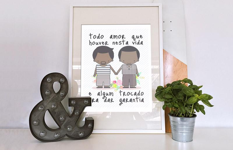 Todo dia é dia! Pôsteres para comemorar o amor 💖!