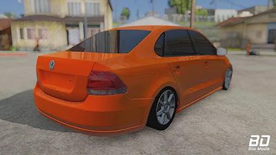 Volkswagen Polo para GTA San Andreas - Traseira