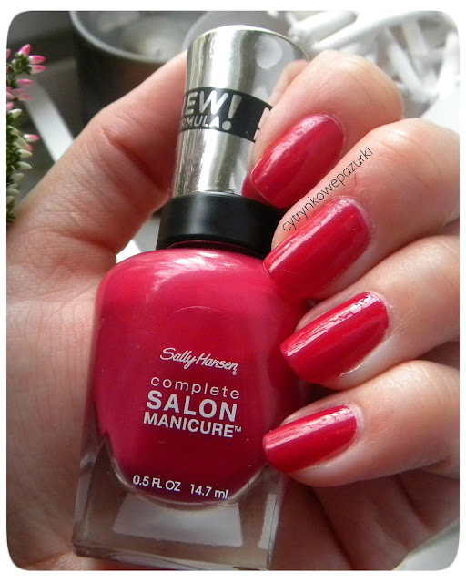 Sally Hanse Complete Salon Manicure 565 Aria Red-?