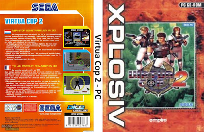 Virtua Cop 2 PC DVD Capa