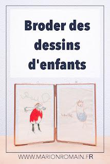 Broder des dessins d'enfants - Marion Romain