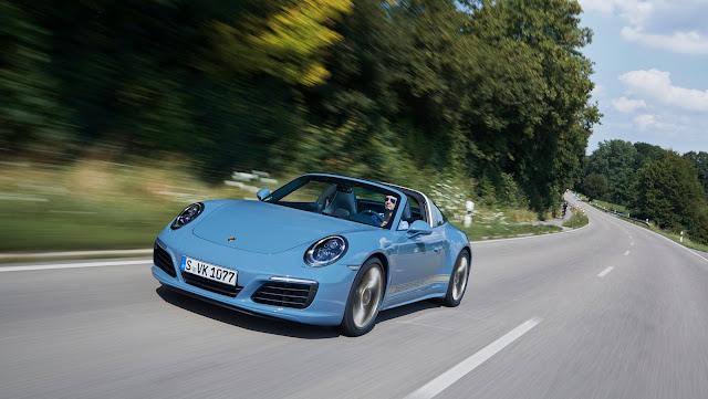 Limited Edition Porsche 911 Targa 4s