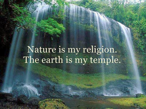 God Pollution: Nature Is My Religion, Earth Is My Temple