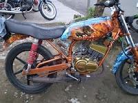 Yamaha Rx King Cobra Original Motor Sang Legendaris