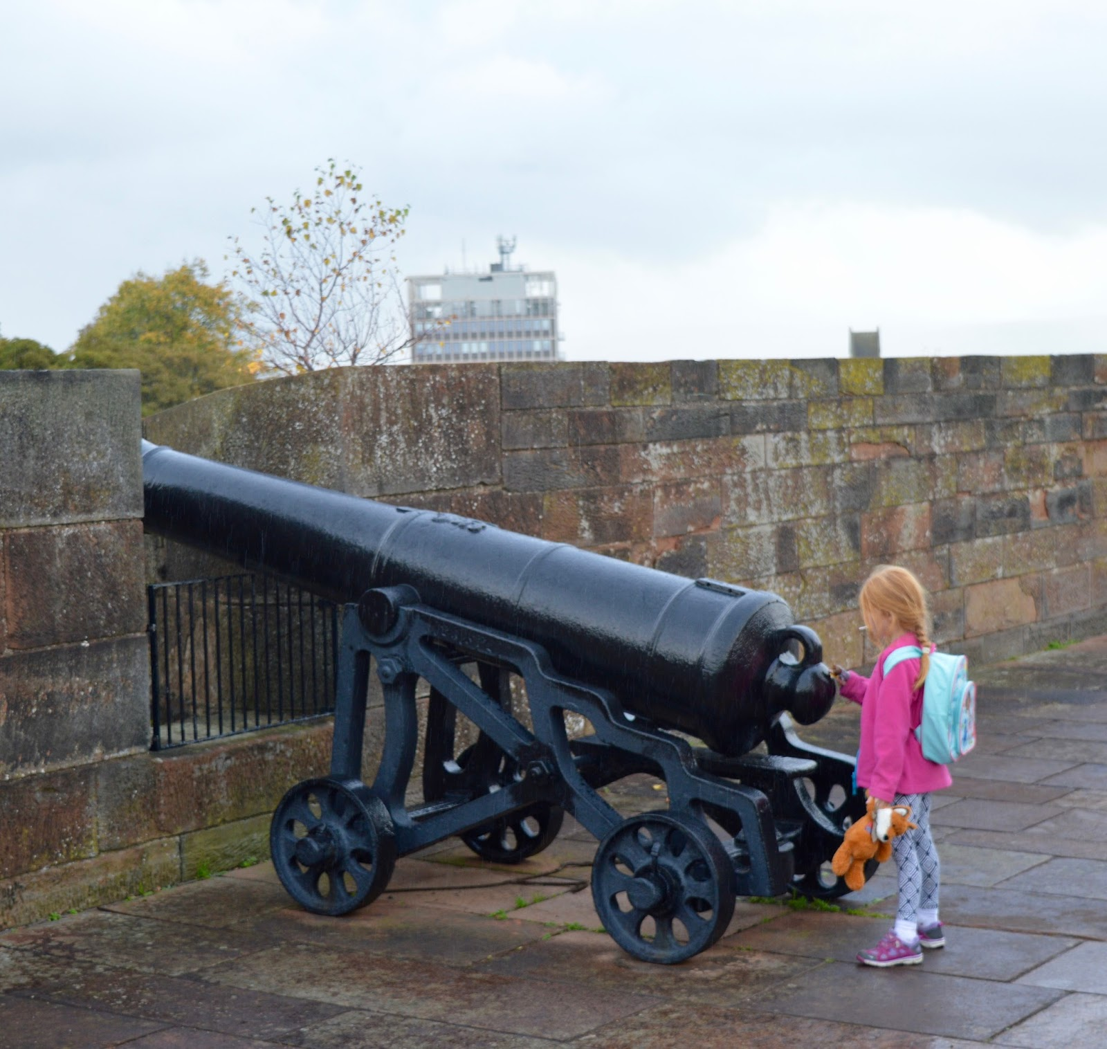 Great Days Out with Northern  | Our Day Trip to Carlisle by Train - canons at Carlisle Castle