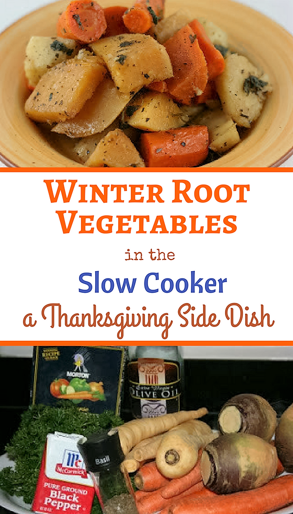 for your holiday table. Slow roast a huge batch of root vegetables ...