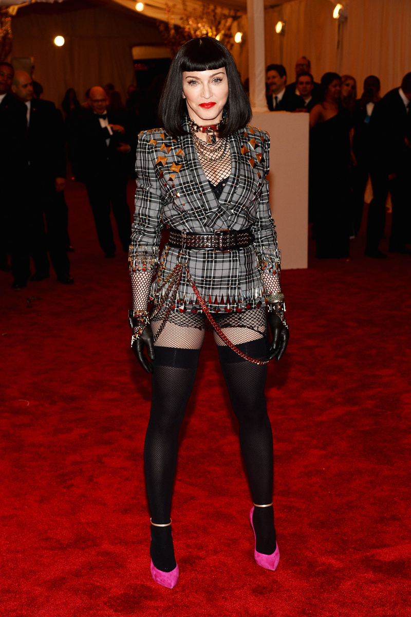 The Punk Look At The 2013 Met Gala