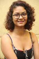 Actress Aditi Myakal Looks gorgeous in Sleeveless Deep Neck Top at Ami Tumi success meet ~  Exclusive 059.JPG